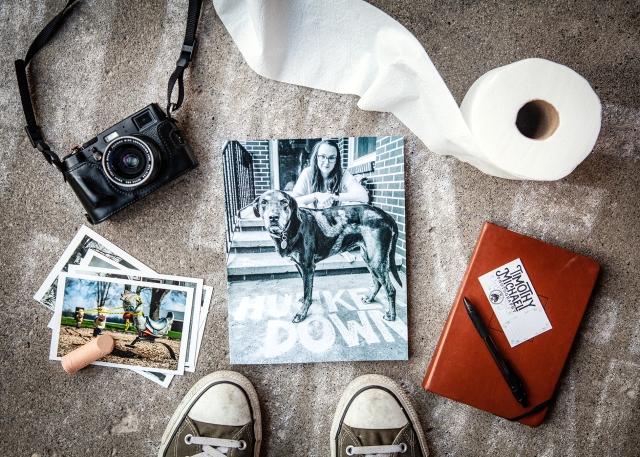 HUNKER DOWN BOOK PHOTOS--1